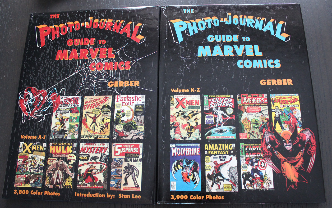 Free Shipping Photo-Journal Guide to Marvel Comics Volumes 3+4 HC 60/% OFF
